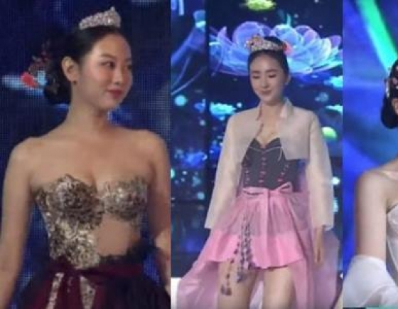 Designer dismayed at 'sexy' hanbok in beauty contest