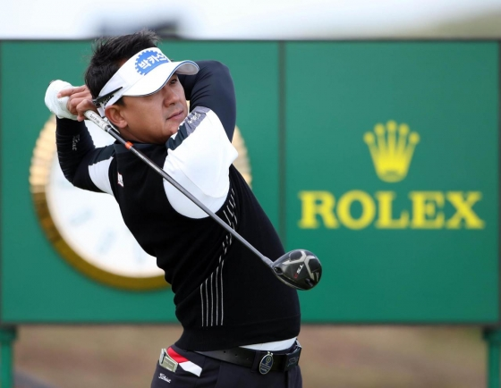 Golf-Korean duo An and Park on the rise at British Open