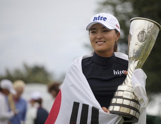 [Newsmaker] S. Korean Ko Jin-young wins Evian Championship for 2nd career LPGA major