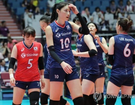 S. Korea falls to Japan in semifinals at Asian women's volleyball tourney