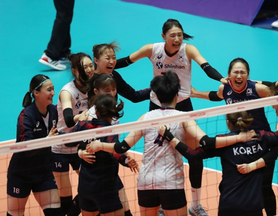 S. Korea beats China to finish 3rd at Asian women's volleyball tourney