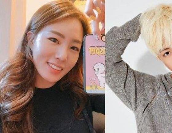Famed skater Lee Sang-hwa, singer Kangnam to marry this year