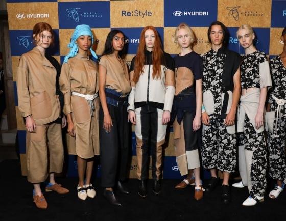[Photo News] Hyundai collaborates to turn leftover leather into fashion
