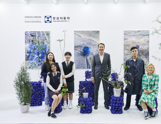 [Herald Interview] Taking artistic approach to CSR
