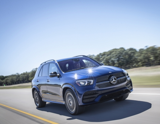 Mercedes-Benz's New GLE named car of the month