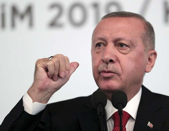 Erdogan says Turkey 'can never declare ceasefire' in north Syria