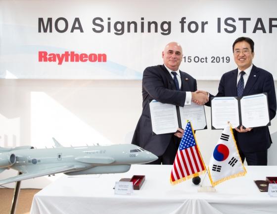 Korean Air, Raytheon partner for ISTAR military solution