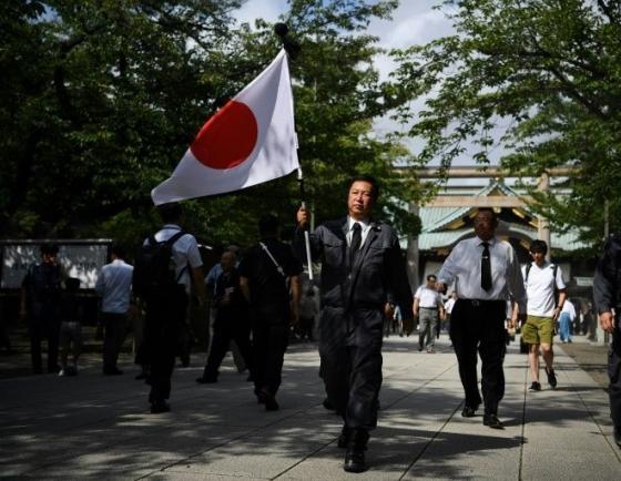 Japanese minister visits Tokyo war shrine