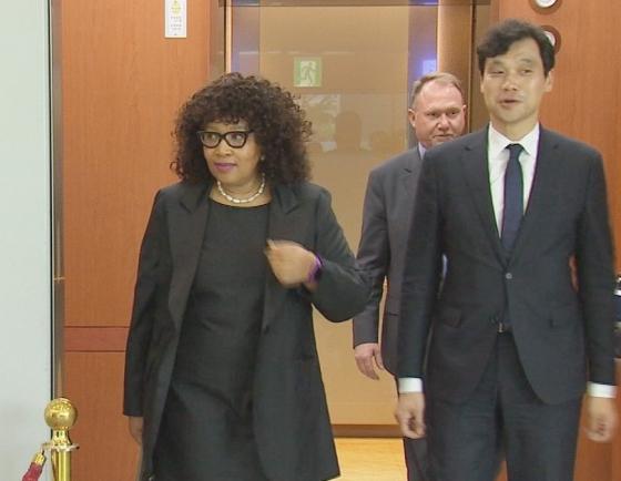 Mandela daughter appointed ambassador to South Korea