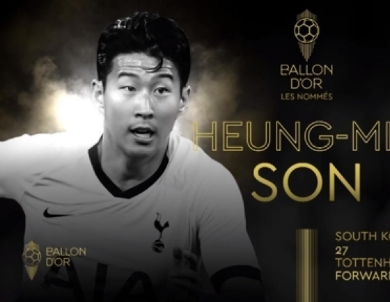 Son Heung-min nominated for 2019 Ballon d'Or