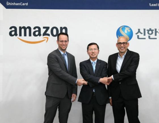 Shinhan Card announces 3-year partnership with Amazon