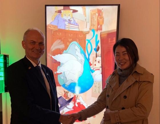 [Diplomatic circuit] Korea Foundation, Danish Embassy open VR-incorporated exhibition