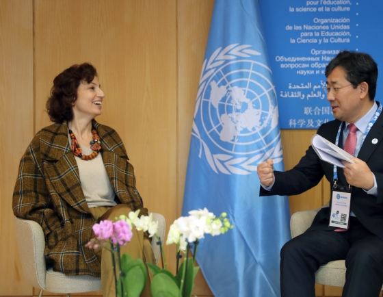 S. Korea, UNESCO to cooperate toward listing DMZ as world heritage