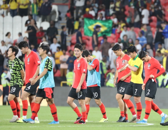 S. Korea schooled by Brazil in football friendly loss