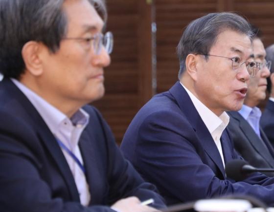 Moon urges parliament to process budget, bills