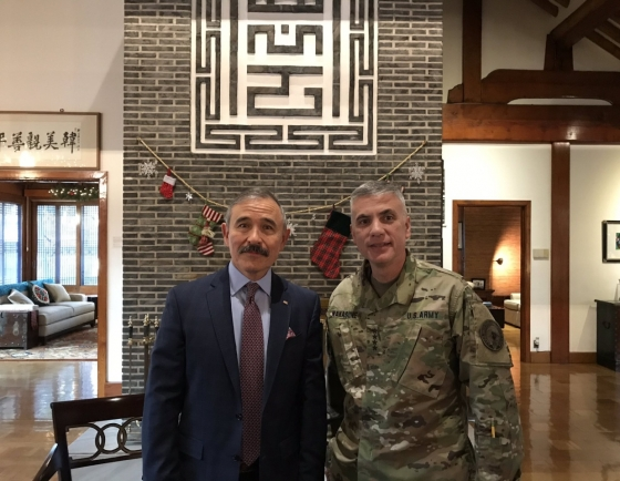 US cyber commander in Seoul for 'important, timely' discussion