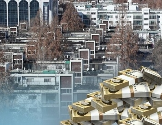 Korean investors turn to real estate, less interested in stock market