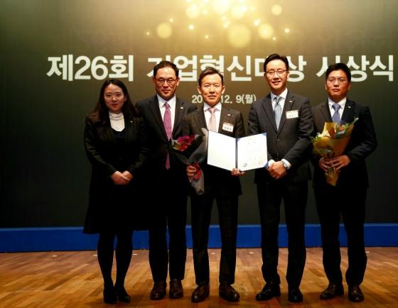 Mirae Asset Daewoo wins presidential award at 26th Corporate Innovation Awards