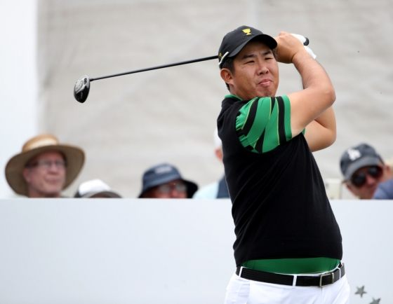 2 S. Korean rookies victorious in Presidents Cup debuts