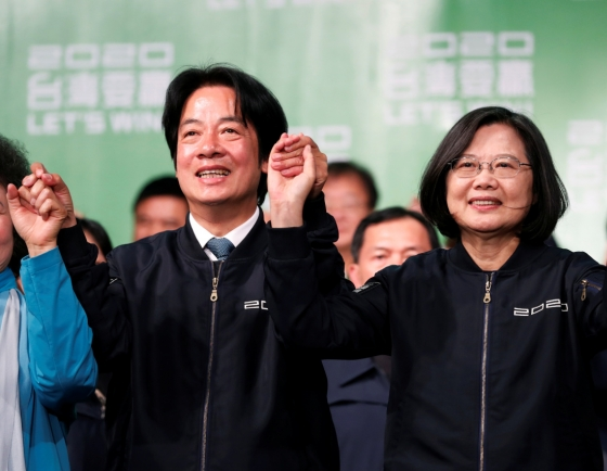 Taiwan's Tsai wins landslide in stinging result for China