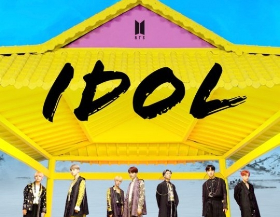 BTS' 'Idol' becomes 6th music video to top 600m YouTube views
