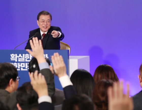 Moon says denuclearization talks still open, too early for pessimism