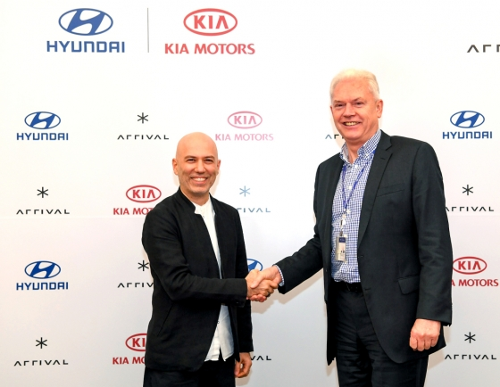Hyundai Motor Group to invest W129b in UK EV startup Arrival