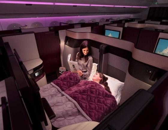Qatar Airways introduces Qsuite on flights from Incheon