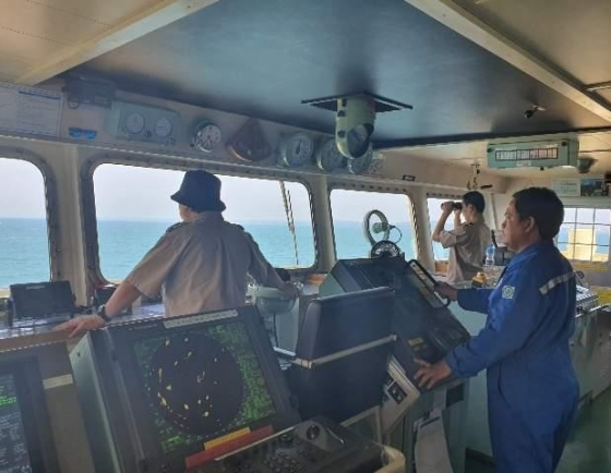 Indonesia releases ship with S. Korean crew members after 100 days of detention