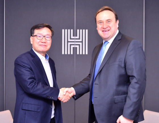 [Diplomatic circuit] [Photo news] Guatemalan ambassador's visit