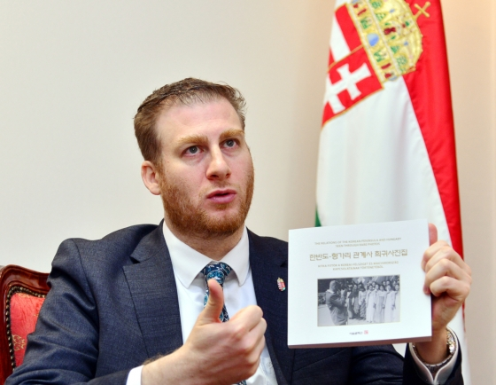 [Diplomatic circuit] Hungarian envoy envisions 'Invented in Hungary' goods with Korean firms
