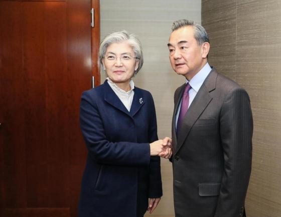 Korean, Chinese foreign ministers discuss coronavirus, Xi's Seoul visit