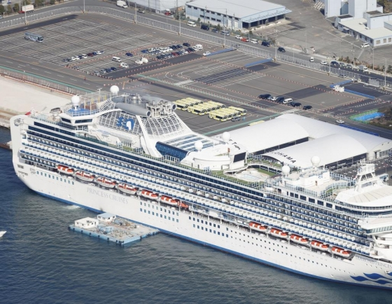 Seoul to bar entry of foreigners aboard infected cruise ship in Japan