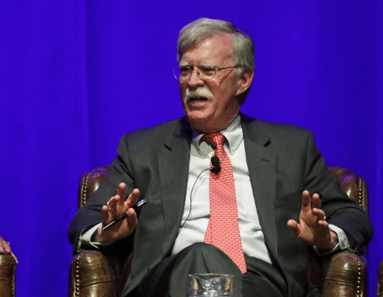 Bolton makes no apology for hardline stance on N. Korea: report
