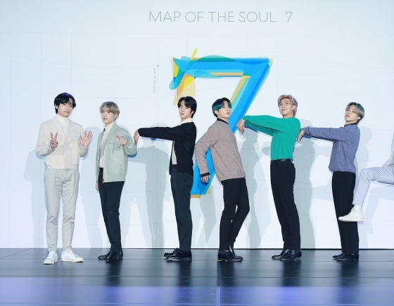 BTS' 'Map of the Soul: 7' tops Japan's Oricon album chart