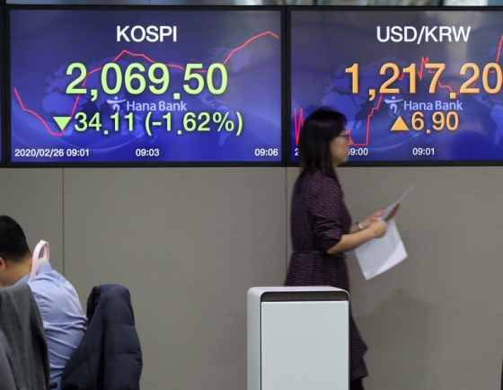 Seoul stocks slip after brief recovery