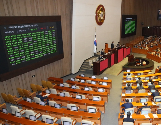 Bills on disease response pass as parliament reopens after closure due to virus concerns