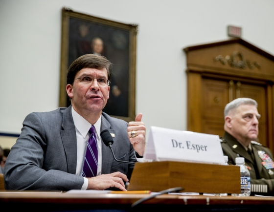 Esper says N. Korea seeks legitimacy with nuclear weapons