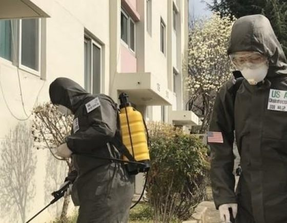 US Forces Korea reports new infections, total 12