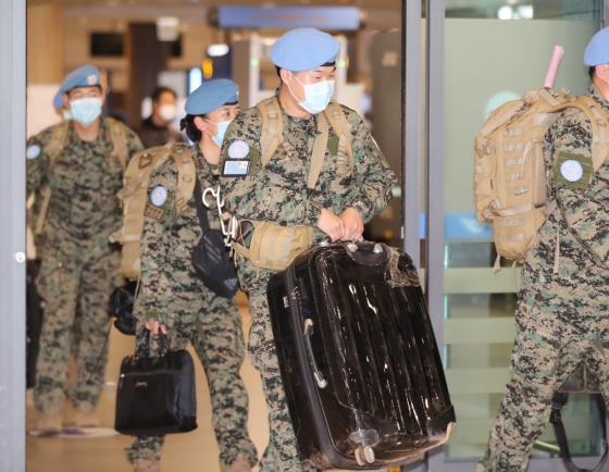 About 200 S. Korean peacekeepers return home from South Sudan