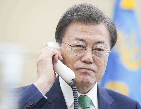S. Korean, Danish leaders vow cooperation on coronavirus: Cheong Wa Dae