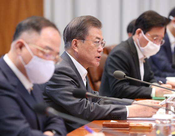 Moon vows another massive stimulus package against coronavirus