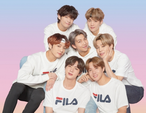 Fila Korea collaborates with BTS to launch Love Yourself Collection