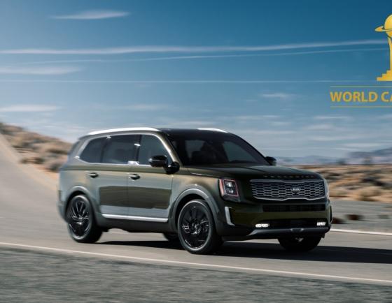 Kia's midsized SUV Telluride named 2020 World Car of Year