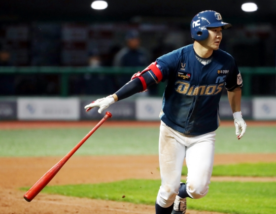 NC Dinos roar to 1st place in KBO behind hitting machine, breakout starter