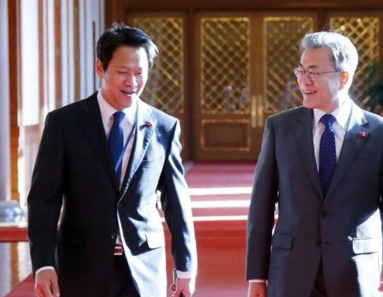 Moon's ex-aide says NK leader was candid