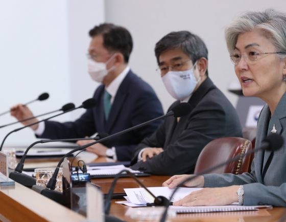 FM Kang pledges to use S. Korea's medical, technological savvy to back UN peacekeeping