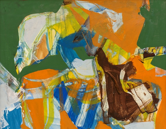 Abstract painter Choi Wook-kyung's pop art influence, experimentation revisited