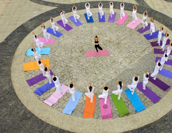 [Photo News] Celebrating International Yoga Day