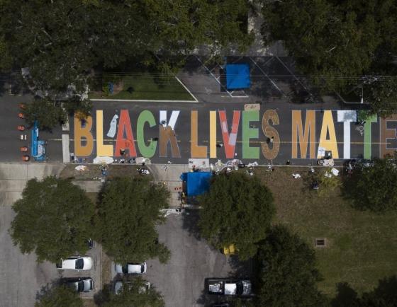 [Photo News] Art to support Black Lives Matter